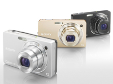 Sony DSC-WX1 - kompakte Digitalkamera