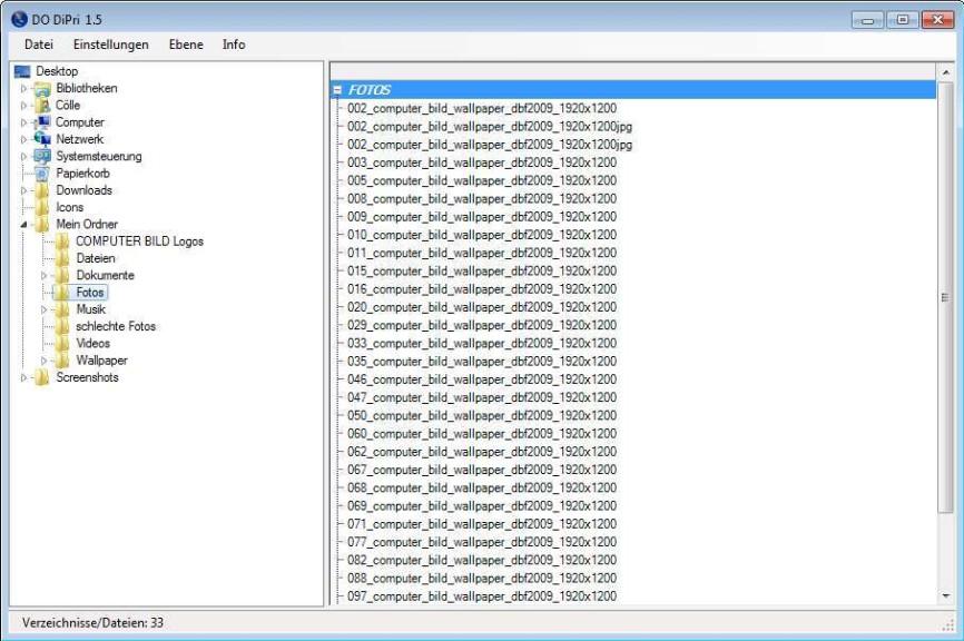 Screenshot 1 - DO DiPri