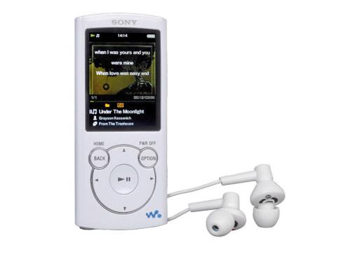 Sony NWZ-S764 (8 GB) ©COMPUTER BILD