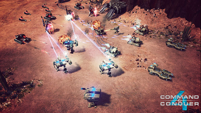 Strategiespiel Command & Conquer 4: Schlacht