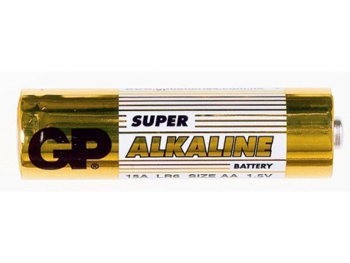 GP Batteries Super Alkaline 4x AA / LR6: Batterie