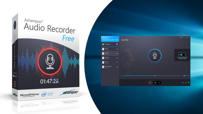 Ashampoo Audio Recorder Free ©COMPUTER BILD