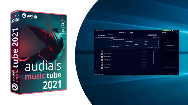 Audio & Video: Audials Music Tube 2021– Kostenlose Vollversion ©COMPUTER BILD