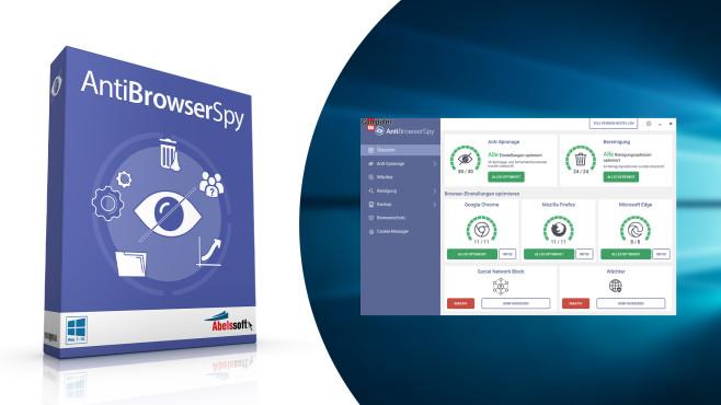 Sicherheit: AntiBrowserSpy (COMPUTER BILD-Edition) ©COMPUTER BILD