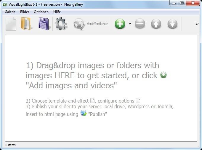 Screenshot 1 - Visual LightBox