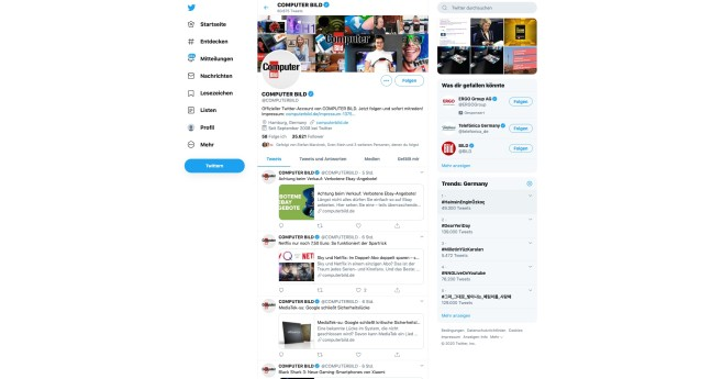 COMPUTER BILD Twitter©COMPUTER BILD