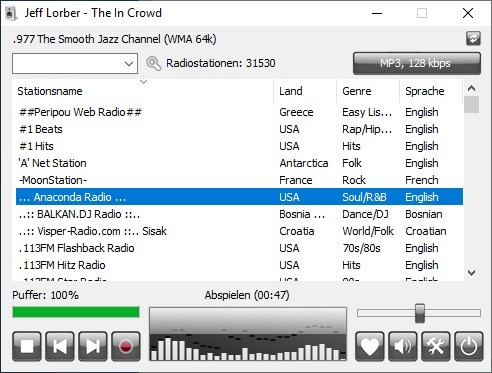 Screenshot 1 - RadioSure