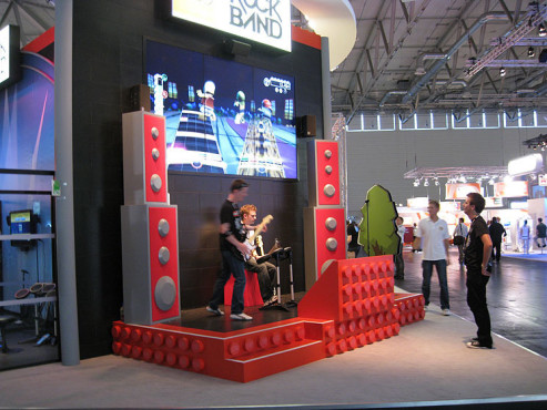 Gamescom 2009: Lego Rock Band