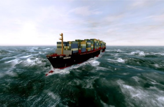 Simulation Ship Simulator Extremes: Containerschiff
