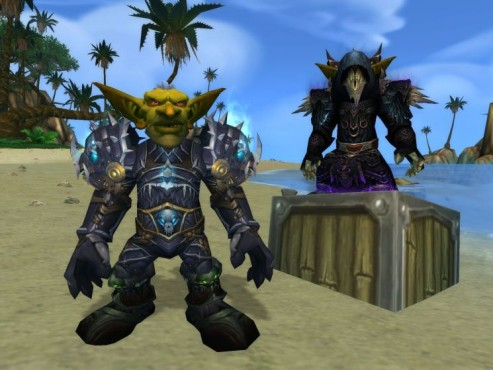 World of Warcraft Add-on Cataclysm: Charaktere © Blizzard