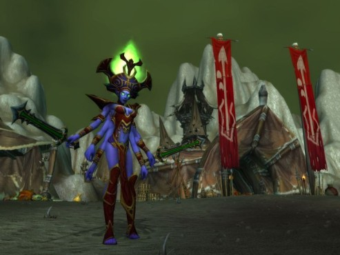 World of Warcraft Add-on Cataclysm: Desolace Invasion © Blizzard