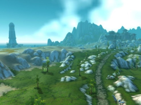 World of Warcraft Add-on Cataclysm: Desolace Landscape © Blizzard