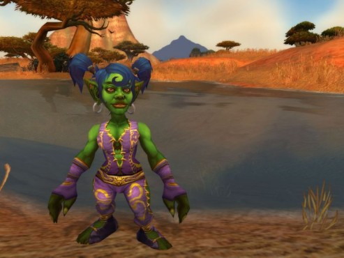 World of Warcraft Add-on Cataclysm: Female Goblin © Blizzard