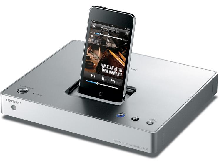 onkyo nd s1 dockingstation f r ipod und iphone audio video foto bild. Black Bedroom Furniture Sets. Home Design Ideas