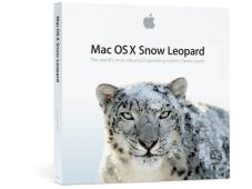 Packshot Apple-Betriebssystem Mac OS X Snow Leopard