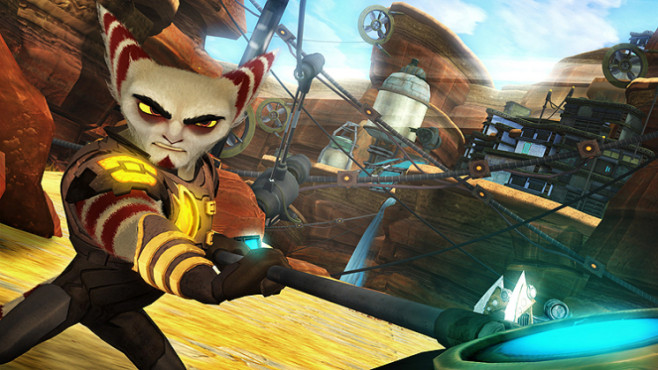 Actionspiel Ratchet & Clank – A Crack In Time: Lombax