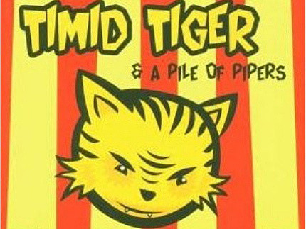 CD-Cover: Timid Tiger – A Pile of Pipers
