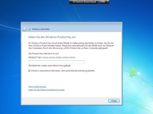 Windows-Product-Key ©COMPUTER BILD