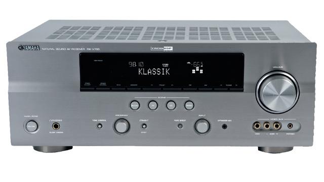 video zum testsieger av receiver yamaha rx v765 audio. Black Bedroom Furniture Sets. Home Design Ideas