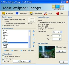 Adolix Wallpaper Changer