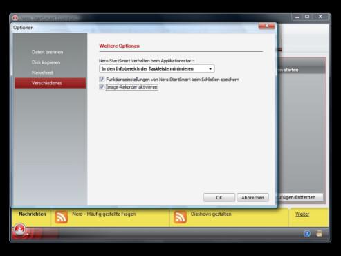 CDs/DVDs in einer einzigen Datei (Image) speichern: Nero 9 Free Version