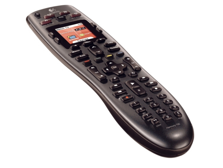 logitech harmony 700 remote universal fernbedienung audio video foto bild. Black Bedroom Furniture Sets. Home Design Ideas