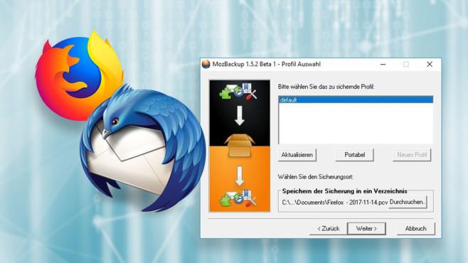 Browser umziehen: Firefox-Datensicherung mit MozBackup©iStock.com/Kseniya_Milner, Mozilla