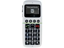 Doro Phone Easy 338 Im Notfall lässt sich eine Notruf-SMS an vorher festgelegte Telefonbuch-Kontakte verschicken.