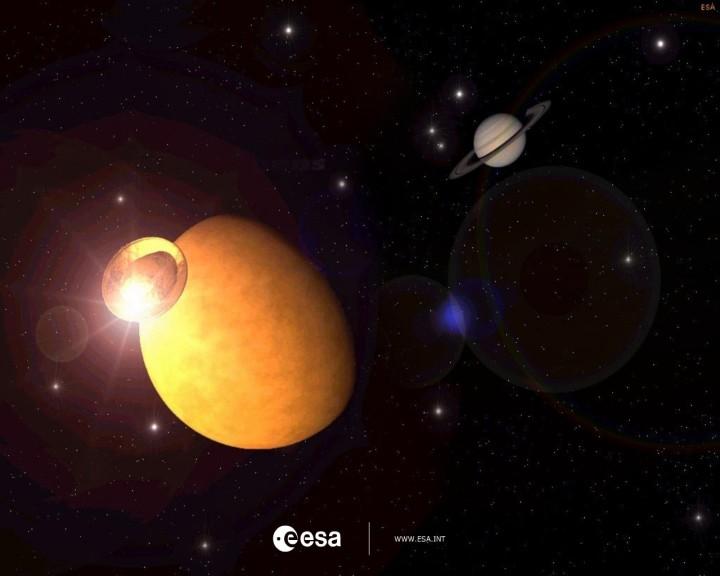 Screenshot 1 - ESA Screensaver (Cassini-Huygens-Mission)