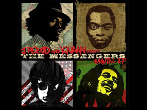 CD-Cover: K´naan – The Messengers I-III