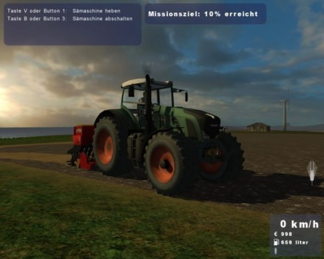 Simulation Landwirtschafts-Simulator 2009: Screenshot