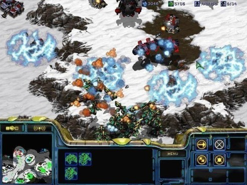 Strategiespiel Starcraft: Screenshot