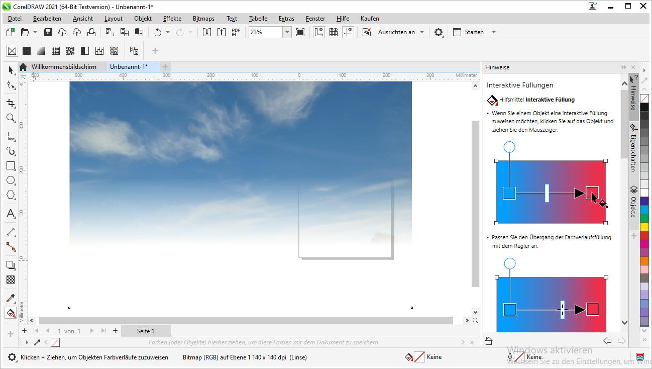 Screenshot 1 - CorelDraw Graphics Suite 2021
