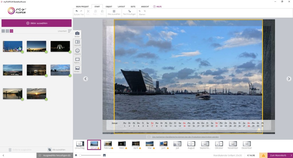Screenshot 1 - myFujifilm Bestellsoftware
