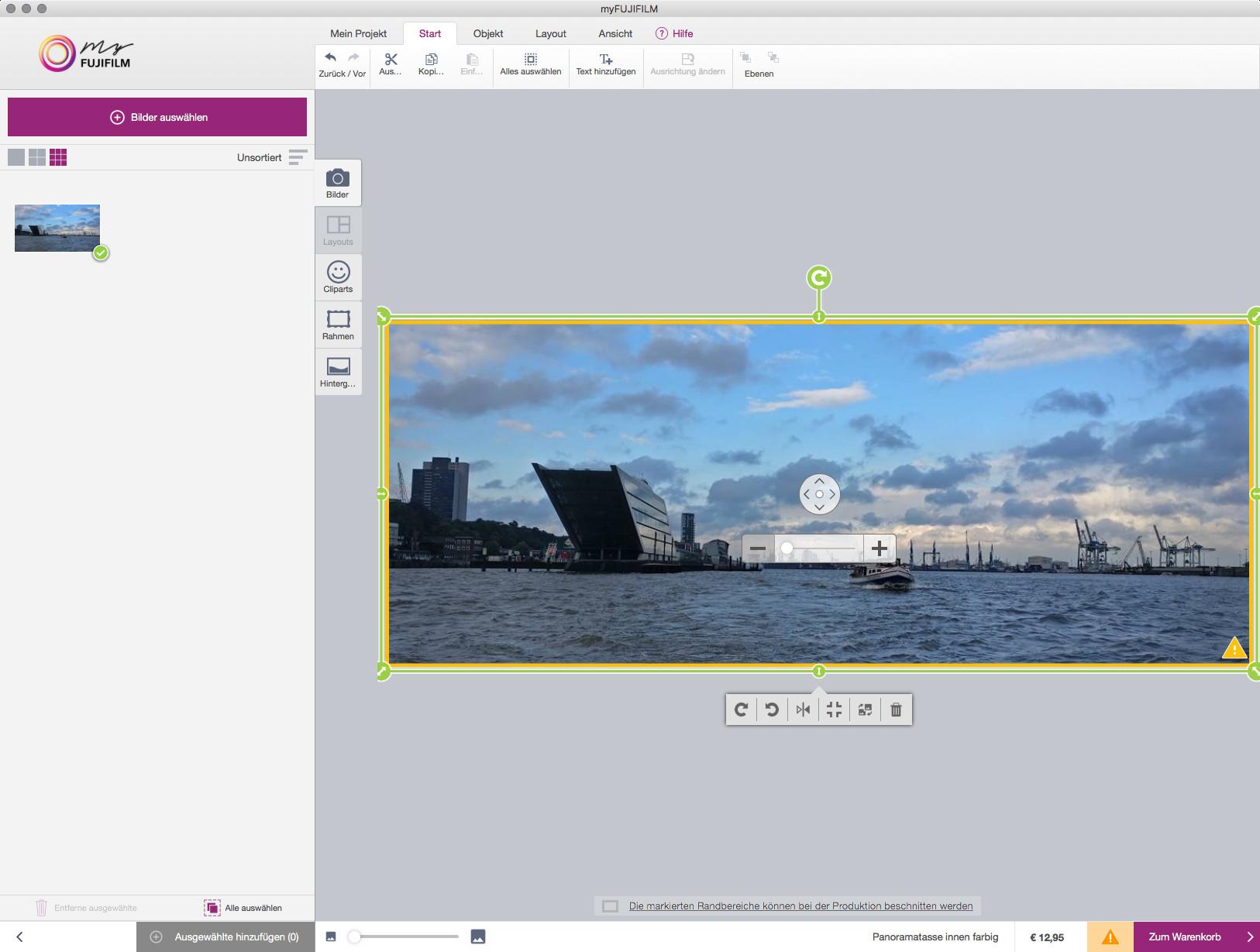 Screenshot 1 - myFujifilm Bestellsoftware (Mac)