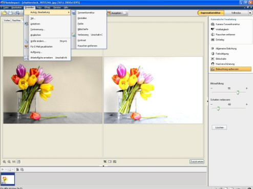 Testversionen Corel PhotoImpact X3