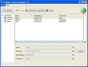 CodeMeter Password Manager Lite