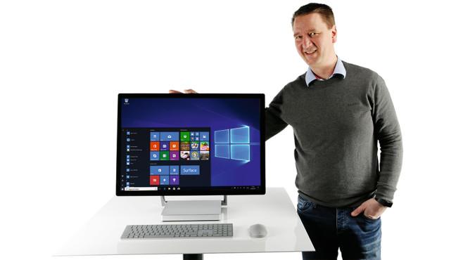 Microsoft Surface Studio i7 32GB/2TB ©COMPUTER BILD