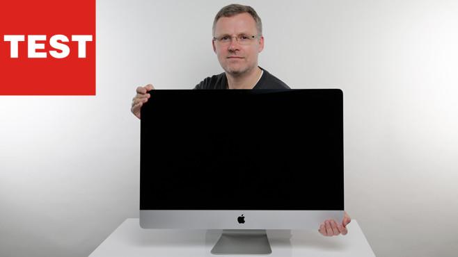 Apple iMac 27 Zoll (2019) ©COMPUTER BILD