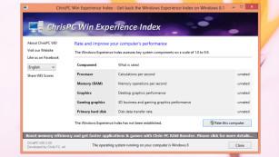 Windows 8.1: Diese 50 Gratis-Programme hat Microsoft vergessen! Dank Win Experience Index testen Sie das PC-Tempo wieder auf Herz und Nieren.©COMPUTER BILD