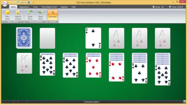 123 Free Solitaire: Kartenspiel nachrüsten ©COMPUTER BILD