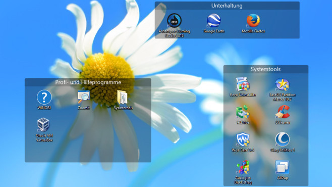 Fences: Desktop-Inhalte besser sortieren ©COMPUTER BILD