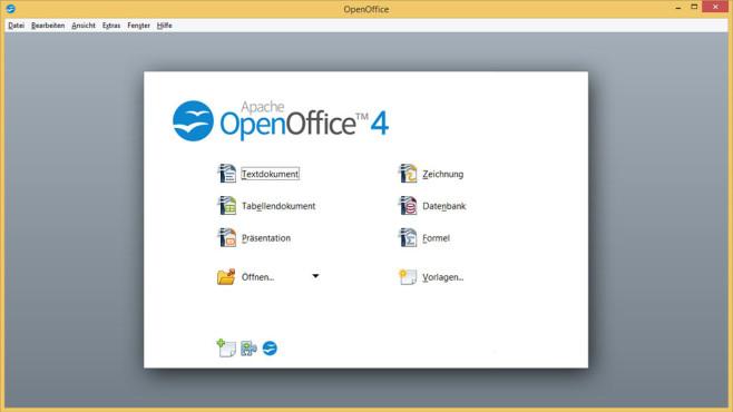 OpenOffice: Umfangreiches Büro-Programm ©COMPUTER BILD