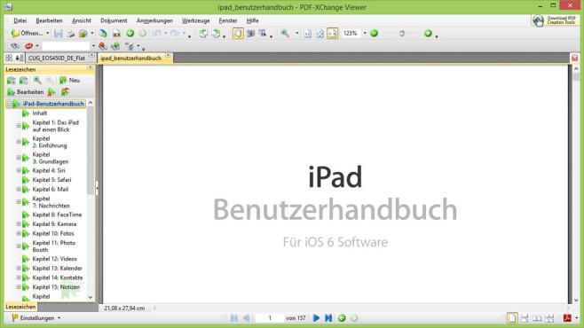 PDF-XChange Viewer: PDF-Dateien betrachten ©COMPUTER BILD