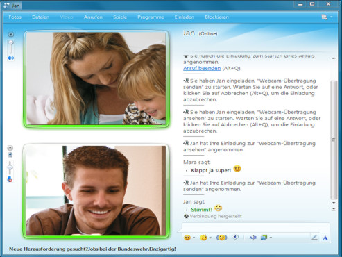 Grenzenlose Kommunikation mit dem Windows Live Messenger
