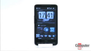 Smartphone Flagschiff HTC HD2 mit Megadisplay und Windows Mobile 6.5