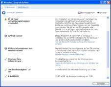 """Windows 7 Upgrade Advisor: Der """"Windows 7 Upgrade Advisor"""" untersucht, ob sich Ihr Computer für Windows 7 """"eignet""""."""