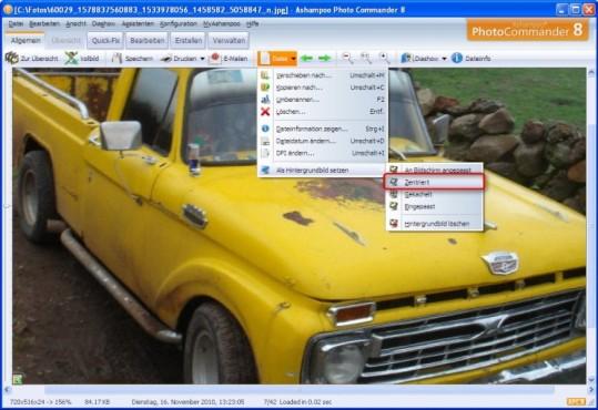 Ashampoo Photo Commander: Hintergrundbild ersetzen