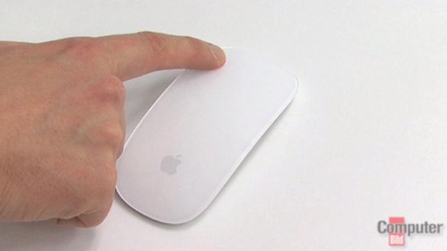 apple magic mouse die erste multitouch maus computer bild. Black Bedroom Furniture Sets. Home Design Ideas