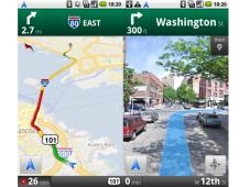 Screenshots Google Maps Navigation